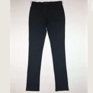 Theory Legging Pants Black Skinny Stretch size M